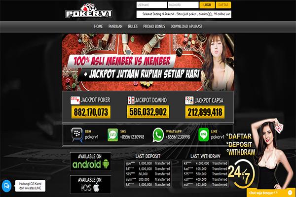 agen pokerqq online